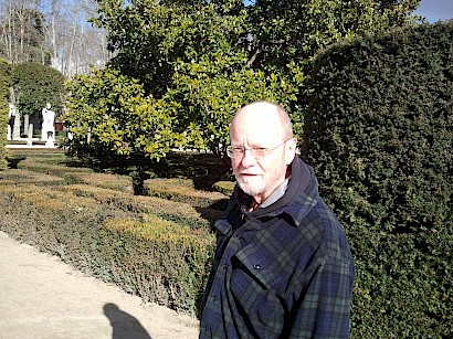 in Madrid, Sabatini gardens, 2014