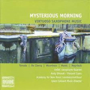 Mysterious Morning (Virtuoso Saxophone Music)-cover